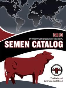 2019 Semen Catalog